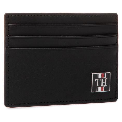 Etui na karty kredytowe TOMMY HILFIGER - Th Solid Cc Holder AM0AM05846 BDS