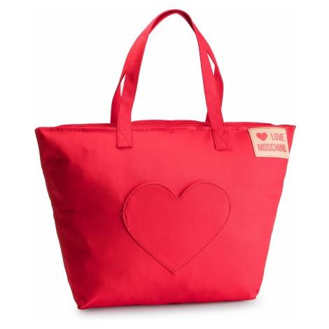 Torebka LOVE MOSCHINO - JC4249PP07KG050A Rosso
