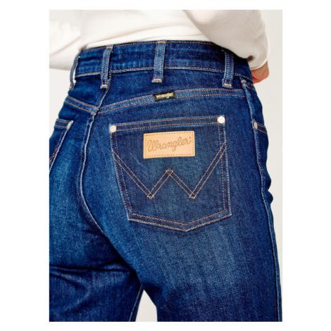 Wrangler Jeansy Regular Fit The Retro W22AJXX9V Granatowy Straight Fit