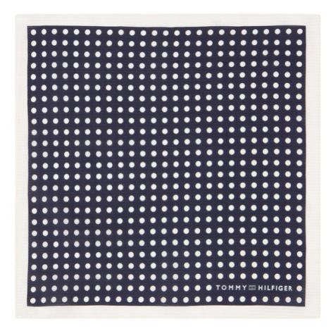 Tommy Hilfiger Tailored Poszetka Dot Square TT0TT06892 Granatowy