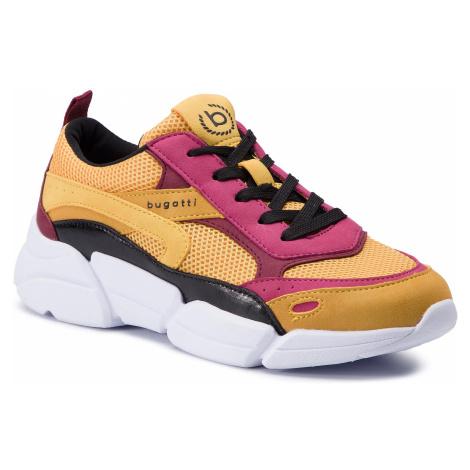 Sneakersy BUGATTI - 431-66801-5959-5081 Yellow/Multicolor