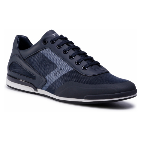 Sneakersy BOSS - Saturn 50439553 10225762 01 Dark Blue 401 Hugo Boss