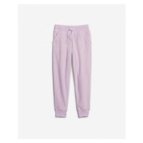 GAP Spodnie dresowe dziecięce Różowy
