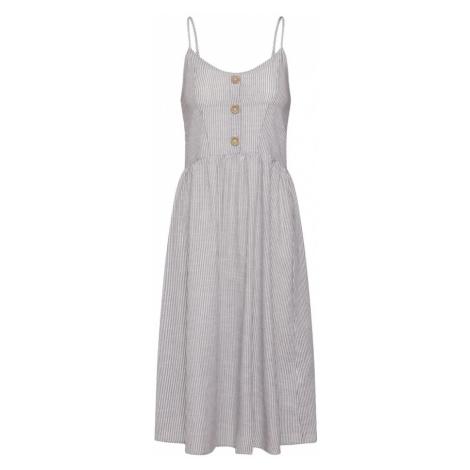 ONLY Letnia sukienka 'CATHY' antracytowy / biały