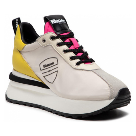 Blauer Sneakersy S1MABEL01/NYP Biały