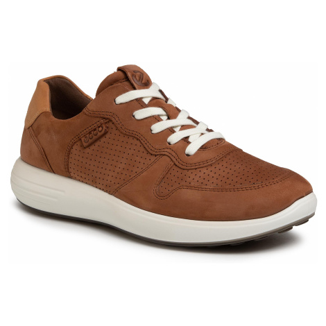 Sneakersy ECCO - Soft 7 Runner M 46063450436 Mahogany/Lion