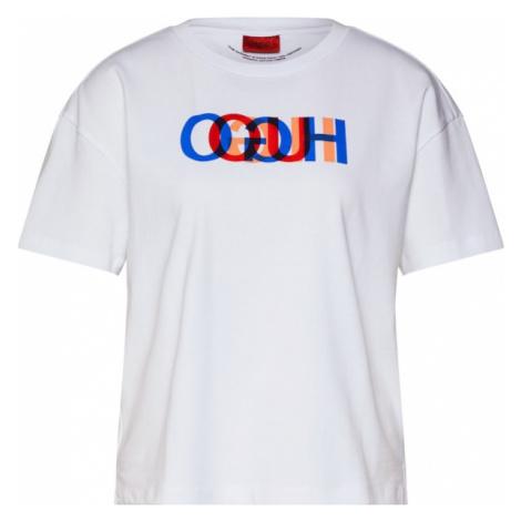 HUGO Koszulka 'Deresea' biały Hugo Boss