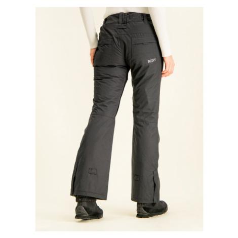 Roxy Spodnie snowboardowe Backyard ERJTP03091 Czarny Slim Fit