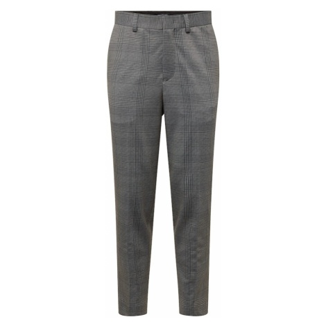 SELECTED HOMME Spodnie w kant szary