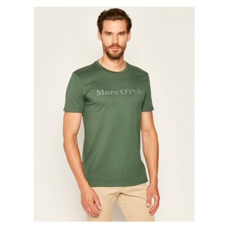 Marc O'Polo T-Shirt 026 2220 51230 Zielony Regular Fit