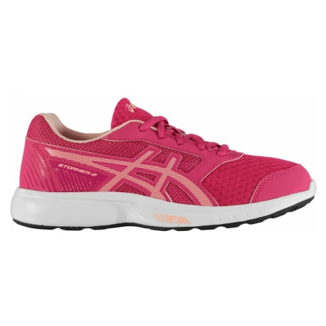 Asics Stormer 2 Junior Girls Running Shoes
