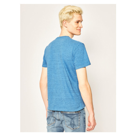Pepe Jeans T-Shirt Horst PM506409 Niebieski Regular Fit