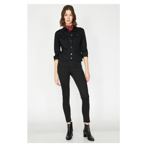 Koton Kobiety Czarny Jean