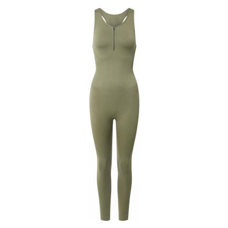 NU-IN Strój do biegania 'Bodysuit' oliwkowy