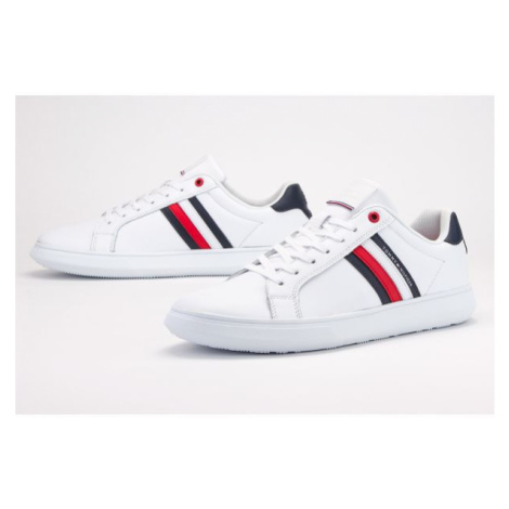 TOMMY HILFIGER ESSENTIAL LEATHER CUPSOLE > FM0FM02668-YBS