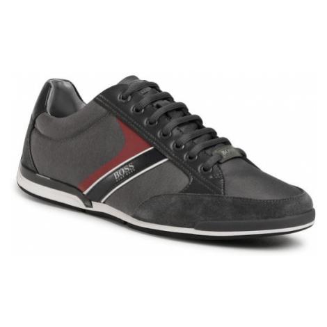 Boss Sneakersy Saturn 50407672 10216105 01 Szary Hugo Boss