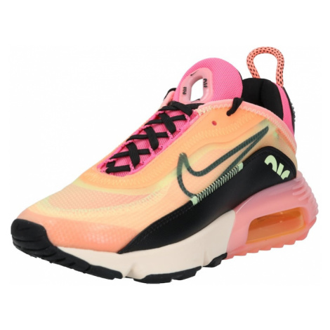 Nike Sportswear Trampki niskie 'AIR MAX 2090' różowy / czarny / pomarańczowy
