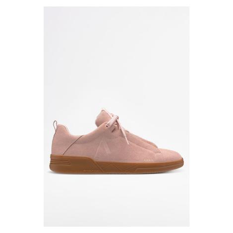 Różowe damskie obuwie sneakers