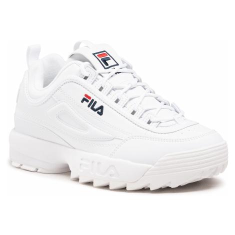 Sneakersy FILA - Disruptor Low 1010262.1FG White