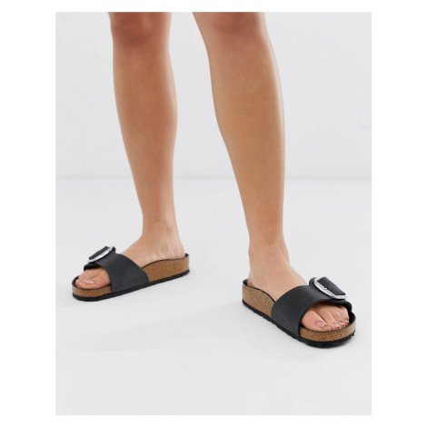 Birkenstock big buckle Madrid leather sandals