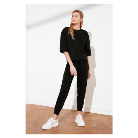 Trendyol Black 2 Knitted Bottom-Top Tool