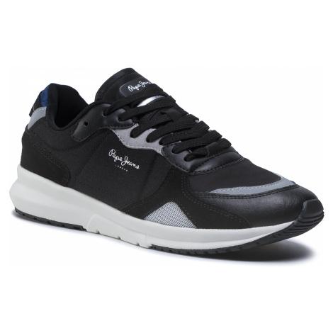 Sneakersy PEPE JEANS - Park Air 0.1 PMS30650 Black 999