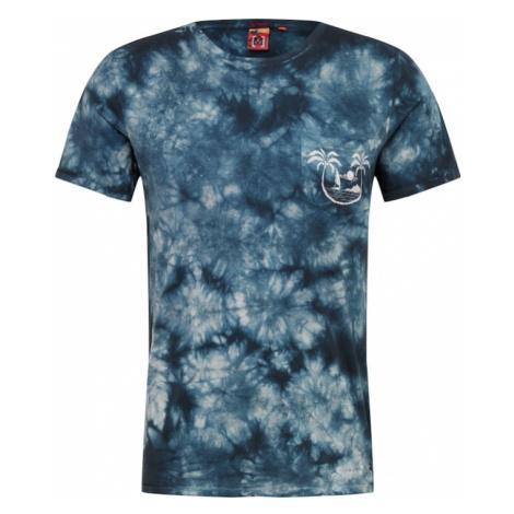 Hailys Men Koszulka 'Tie Dye' granatowy
