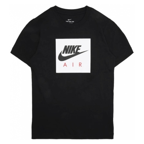 Nike Sportswear Koszulka 'B NSW TEE NIKE AIR BOX' czarny