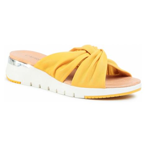Klapki CAPRICE - 9-27203-34 Sunflower Soft 620