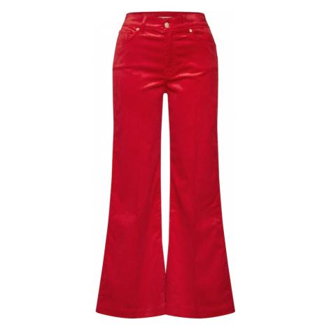 7 for all mankind Spodnie 'LOTTA' czerwony