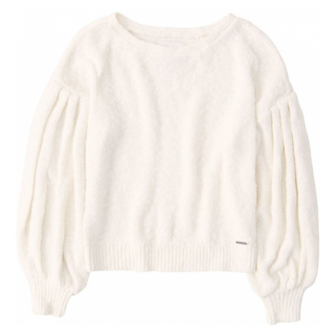 Abercrombie & Fitch Sweter beżowy