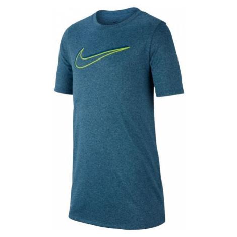 Nike NK DRY LEG TEE 3D SWOOSH niebieski L - Koszulka sportowa chłopięca