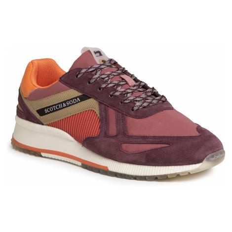 Sneakersy SCOTCH & SODA - Vivex 20837560 Purple Multi S576