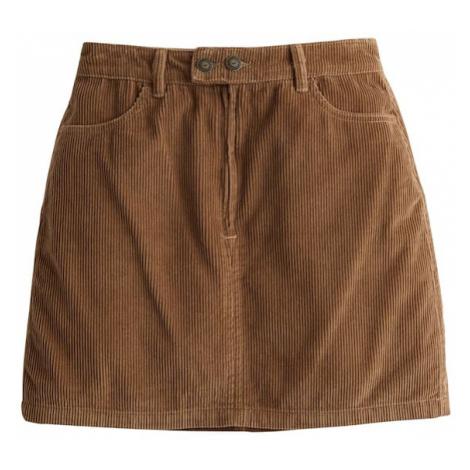 HOLLISTER Spódnica brązowy
