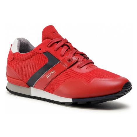 Boss Sneakersy Parkour 50412232 10218881 01 Czerwony Hugo Boss