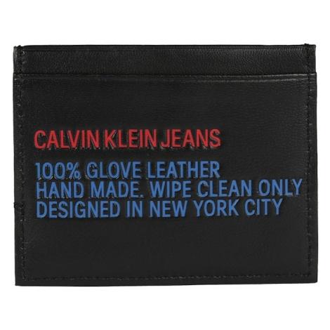 Calvin Klein Jeans Portmonetka 'UTILITY CARDHOLDER' czarny