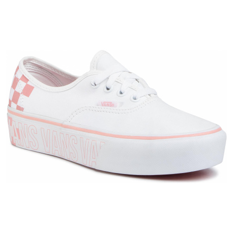 Tenisówki VANS - Authentic Platfor VN0A3AV8AHP1 True White/Multi