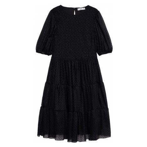 MANGO Sukienka koktajlowa 'Belma' czarny