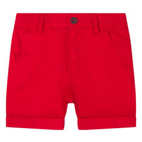 Timberland Szorty materiałowe T24A88 S Czerwony Regular Fit