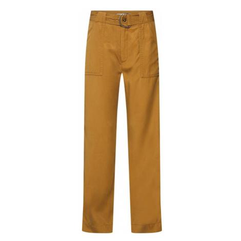 Mbym Spodnie 'Savanah' żółty