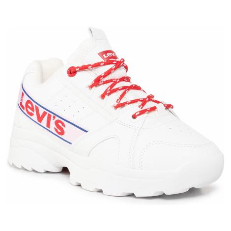 Sneakersy LEVI'S® - Soho VSOH0051S White Red Levi´s