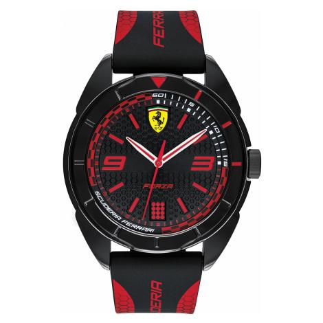 Zegarek SCUDERIA FERRARI - Forza 0830515 Black/Red
