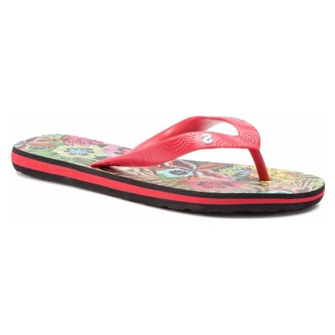 Japonki DESIGUAL - Shoes Flip Flop Tropical 19SSHF10 2000 Czerwony
