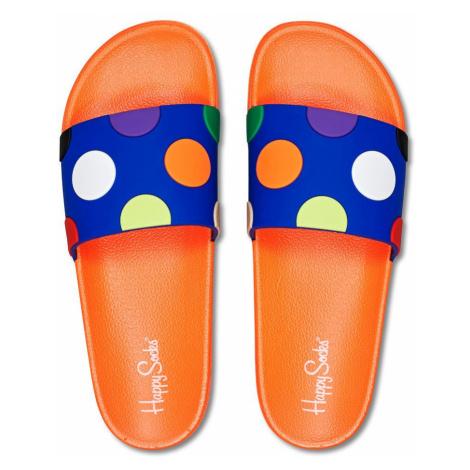 Happy Socks - Klapki Pool Slider Big Dot