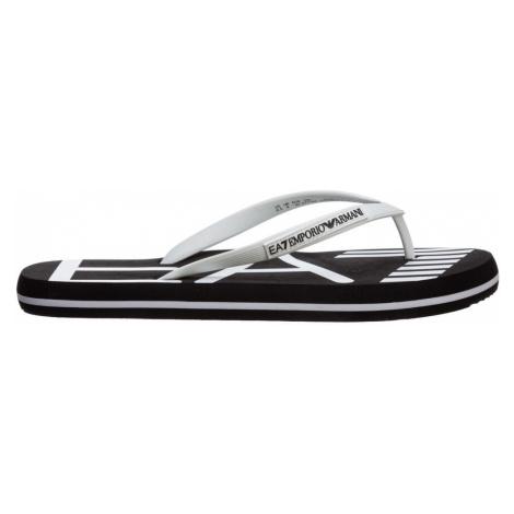 Gumowe klapki sandały Armani