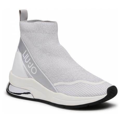 Sneakersy LIU JO - Karlie 54 BA1009 TX157 Silver 00532