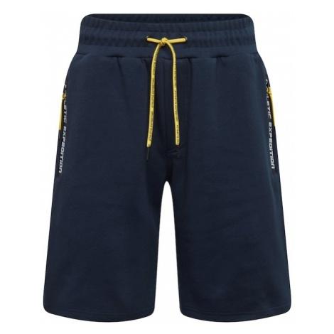 !Solid Spodnie 'Antifit-Baden' ciemny niebieski