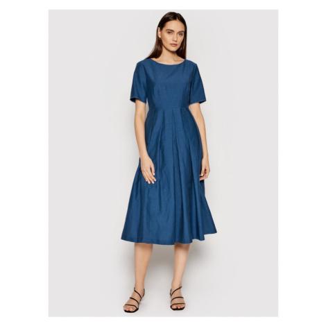 Weekend Max Mara Sukienka codzienna Edere 52211511 Niebieski Regular Fit