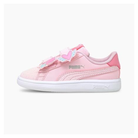 PUMA Niemowlęce Buty Sportowe Smash V2 Unicorn, Różowy