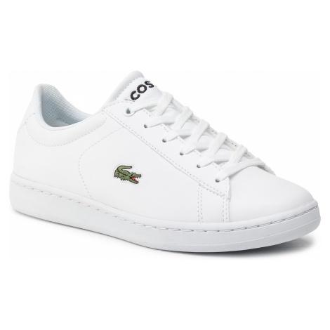 Sneakersy LACOSTE - Carnaby Evo 119 7 Suj 7-37SUJ000321G Wht/Wht